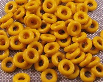 6mm Orings Buttercup Yellow