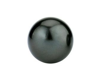 Tahitian Loose Pearl Half Drilled AAAA Tahitian Black Pearls for Pendants Tahitian Pendants Tahitian Pearl Rings Free Shipping
