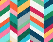 Geo Pop Canvas Fabric - Robert Kaufman Fabrics -  CANVAS Fabric Emmie K - Geometric Fabric - Home Dec Geo Pop Fabric - Sorbet Pop