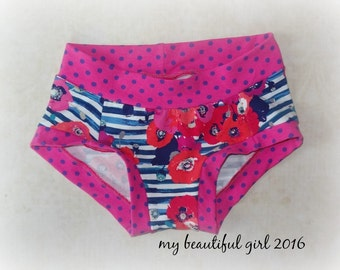 Womens Poppies & Dots Dundies - You choose Size
