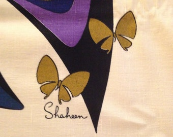 Designer Alfred Shaheen 1960s Butterfly Panel