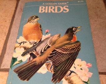 1956 Birds Golden Nature Guide Book