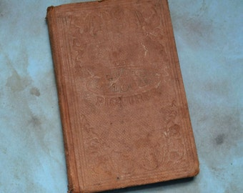 1861 American Sunday School Union Second Book of 100 Pictures