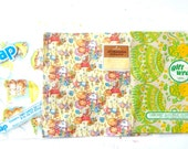 Lot of 3 Vintage Wrapping Paper Kids Paper Kittens Bears Precious Moments Scrapbook Paper Nostalgia Hollie Hobbie