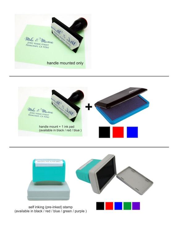 Address stamp self inking - Wedding Gift, Bridal Shower Gift, Realtor Gift, Housewarming Gift, Christmas gift - Address stamp wedding R296