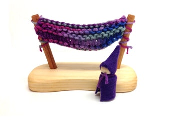 Hammock with Gnome Purple Colors