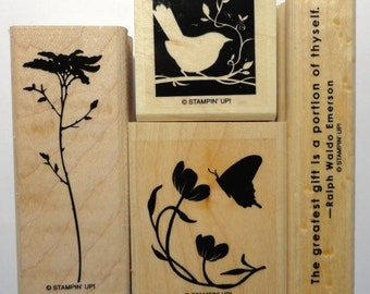 Stampin' Up! Rubber Stamp Of The Earth