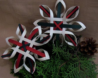 Nordic Christmas Star Ornaments – sold in sets of two