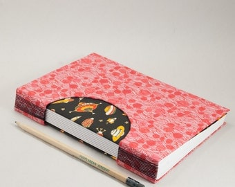 Journal, Notebook, Sketchbook or Guestbook, Hand-Bound that's Out of this World
