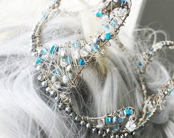 Frozen Snowflake Crown