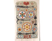 Linen Towel Robert Darr Wert Door Hex Signs
