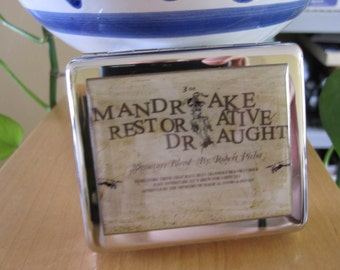 Mandrake Draught 8 Day Pill Box with Mirror