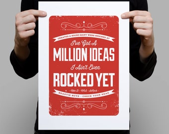 A Million ideas – A3 Digital Artprint