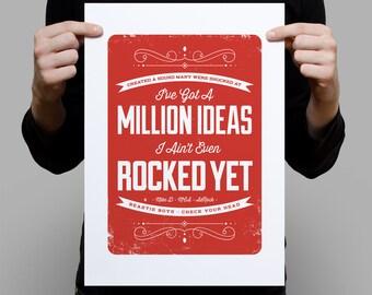 A Million ideas – A3 Digital Artprint