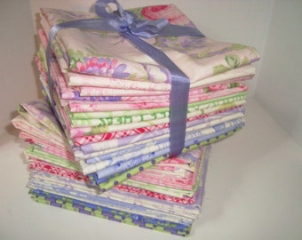 Sausalito Cottage by Lakehouse Fat Quarters YES!!! I combine shipping, use flat rate envelopes and give refunds of excess fees