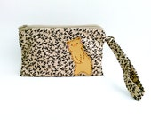 Wristlet for iPhone 6s Plus, Wristlet Wallet, Samsung Galaxy Note 5, Wristlet Purse, Wristlet Clutch, Wristlet, Zipper Pouch - Cat