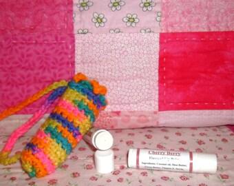Cherry Berry Lip Balm and Cuticle Softener