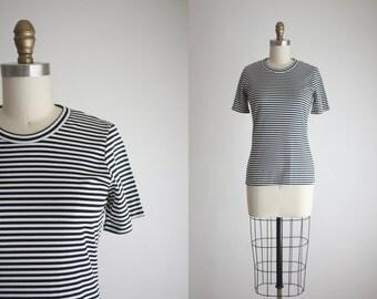 parisian stripe blouse