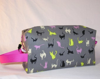 Moonlight Cats Project Bag