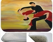 Dancers kitchen or  bathmat from my art