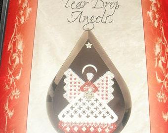 Cross Stitch Chart / Pattern - Tear Drop Angels - Janice Love - Love 'n Stitches