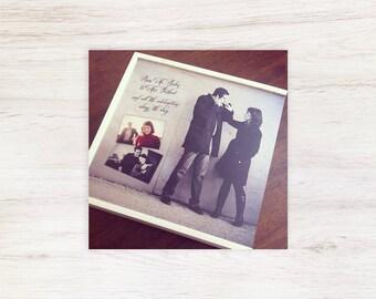 Maple Album Box, Album Box, Wood Album Box, Custom Album Box, Wedding Album Box, Photo Album Box