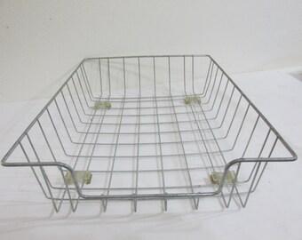 Wire Desk Tray Industrail File Basket