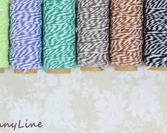 Liquidation! - Bakers Cotton Twine - Grab Bag - 5 rolls of 20 yards each