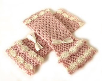 Victorian mittens, Crochet boho mittens, Wedding mitts, Fingerless mittens, Fingerless gloves, Lolita mitts, Steampunk mittens, Autumn mitts