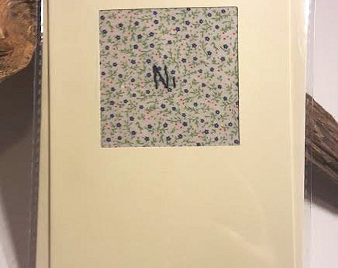 Ni! Embroidered Greetings Card