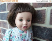 """70% OFF CLEARANCE 1995 DOLL """"Baby So Beautiful"""" with Dress Bsb 15"""" Brown Hair Green Eyes"""