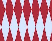 SALE - Free Spirit Jane Sassaman -  -WILD Child-MASQUERADE-Red PWJS048 1 Yard Cut