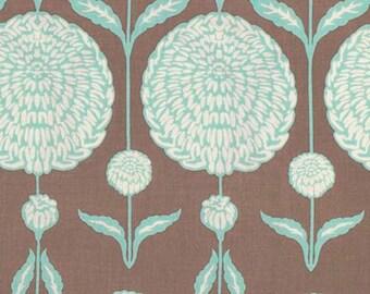 SALE Free Spirit Joel Dewberry BIRCH FARM- Chrysanthemum -Burlap PWJD093 1 Yard Cut