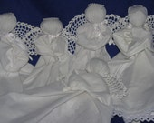 Handmade Angel hanky babies * pew dolls * church dolls * praying angels from heart of Ohio