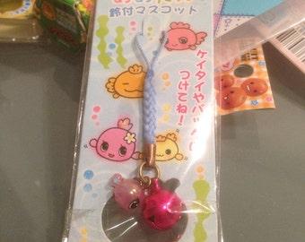 Kawaii fish phone strap charm