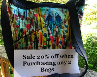 Sale 20% off When Purchasing 2 Bags /Totes / Messengers / Clutches