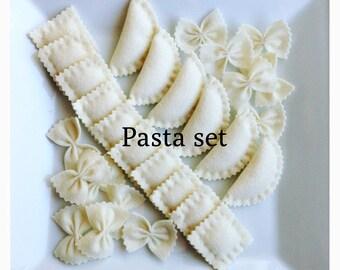 Etsy Pretend food- Play food -Felt food  Pasta set