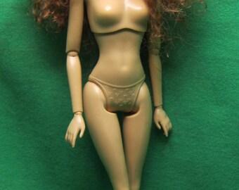 Custom Doll on the Original Barbie Fashionista body.
