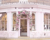 London Photograph - Peggy Porschen Parlour, Pink Cake Shop, England Fine Art Photograph, Kitchen Home Decor, Large Wall Art