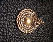 Ancient Inspired, Brass Pendant, Brass jewelry, greek pendant, roman pendant, anient jewelry