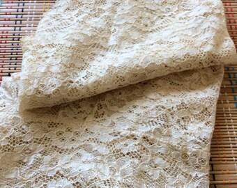 Beautiful Vintage Lace Vest, R