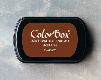 Brown Stamp Pad (Mudslide) // Archival ink // ColorBox