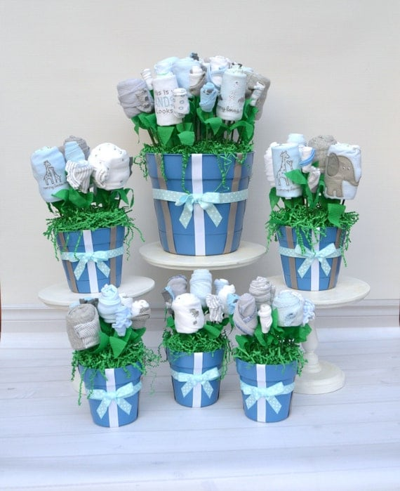 Baby shower decorations baby shower package baby by for Baby shower flower decoration