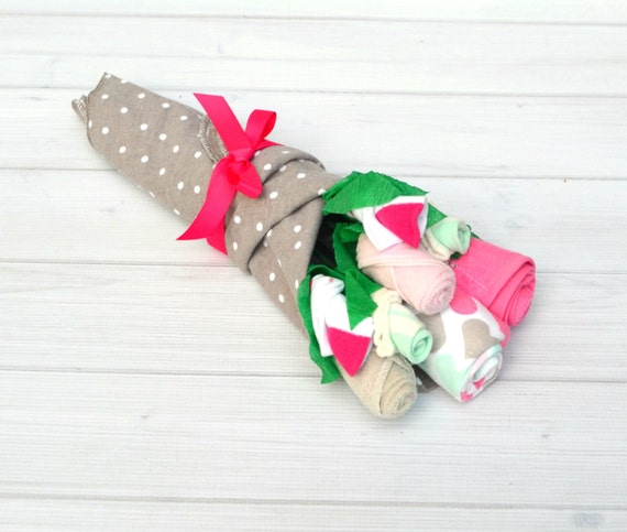Baby Shower Gifts - Girl Baby Gift - Best Friend Baby Shower - Maternity Gift Ideas - Pregnant Wife Gift - Flowers for Baby - Newborn Outfit