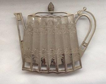 Godinger Silver Teapot Trivet