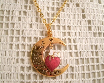 Snoopy on Heart  Vintage Aviva Charm  Love you to the Moon and Back New charm with Vintage Aviva Snoopy