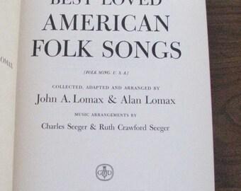 Best Loved American Folk Songs by John Lomax, 1947