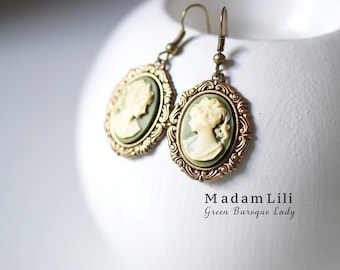 The Baroque Lady Earrings