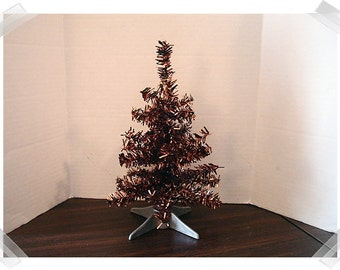Bottle Brush Halloween Tree with Plastic Base*/ Holiday Decor*