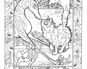 Whimsical Wonders limited first run coloring book